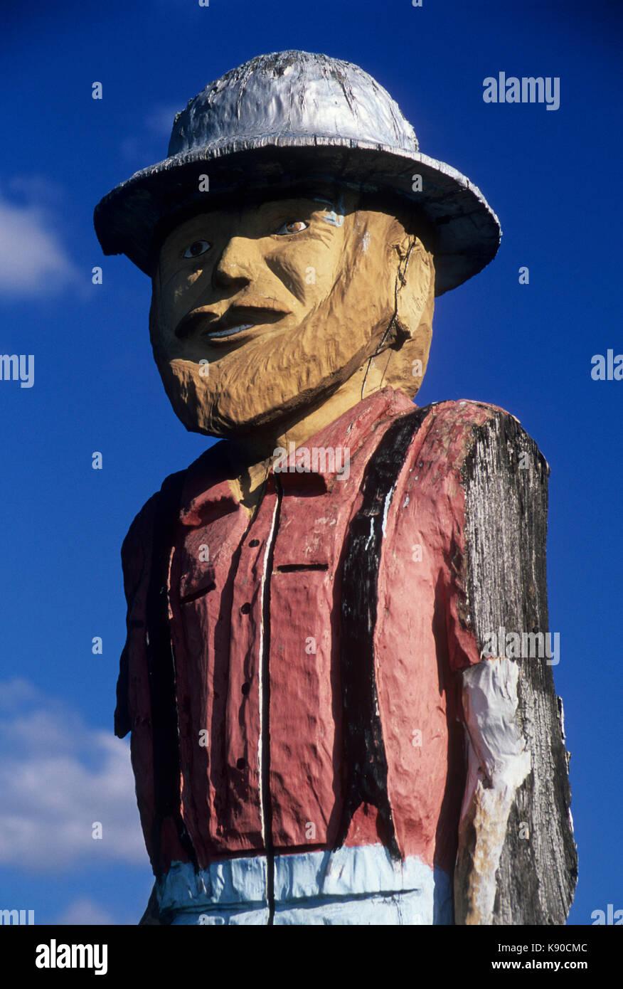 Chainsaw sculpture stock photos
