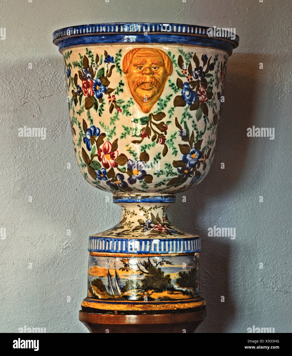 Face vase stock photos face vase stock images alamy italy abruzzo loreto aprutino acerbo ceramic museum vase with a mans face with mustache reviewsmspy