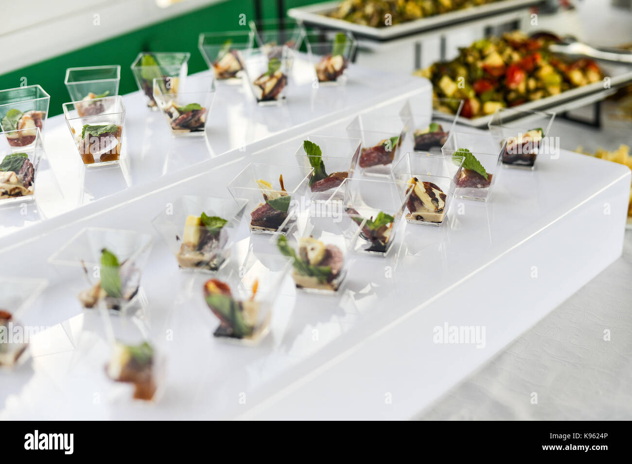 Buffet Table Canape Sandwiches Snacks Holiday Table Sliced - Catering buffet table setup
