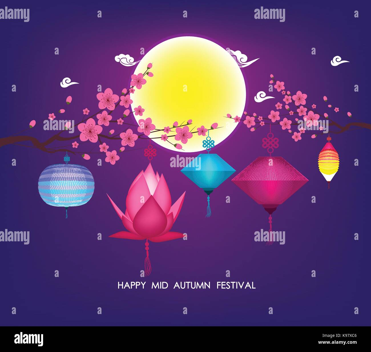 Chinese mid autumn festival graphic stock photos chinese mid chinese mid autumn festival graphic design stock image kristyandbryce Choice Image