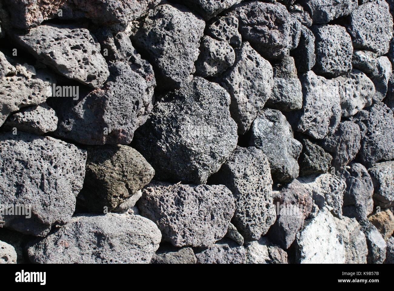 Basalt Stone Wall : Black basalt stock photos images alamy