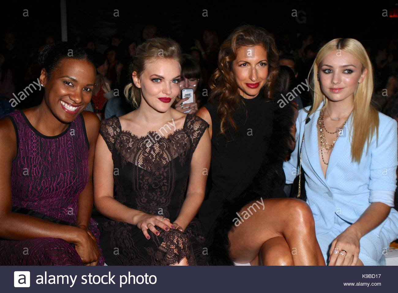 vicky jeudy madeline brewer alysia reiner and peyton list nanette
