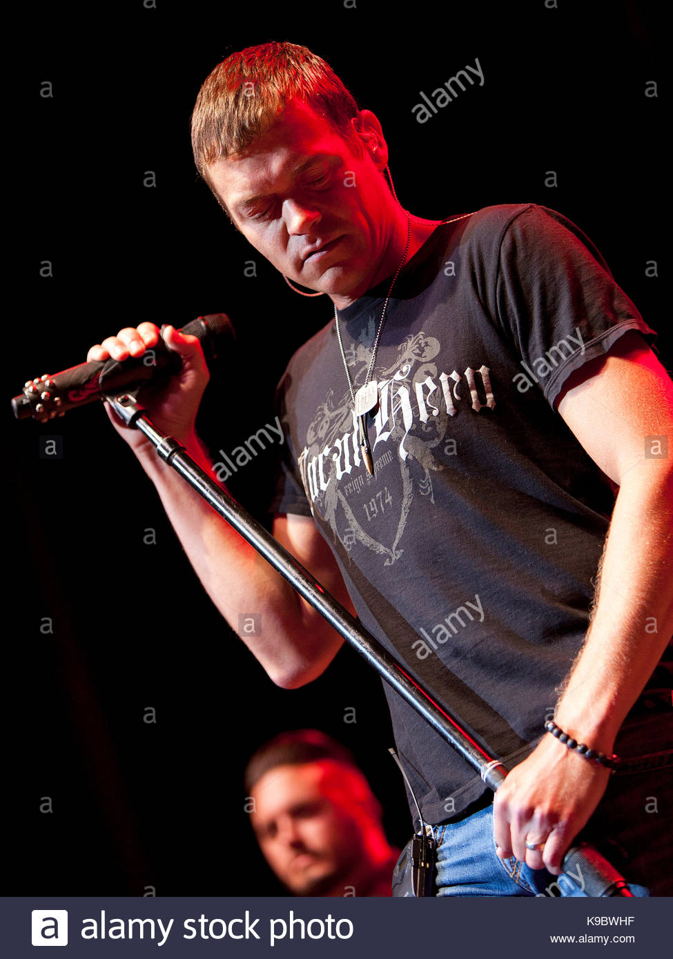 Hit rockers 3 Doors Down performed at The Tabernacle on Wednesday September 10 2014 in Atlanta GA. The performance was live-streamed on Yahoo! Music  sc 1 st  Alamy & Brad Arnold. Hit rockers 3 Doors Down performed at The Tabernacle ...