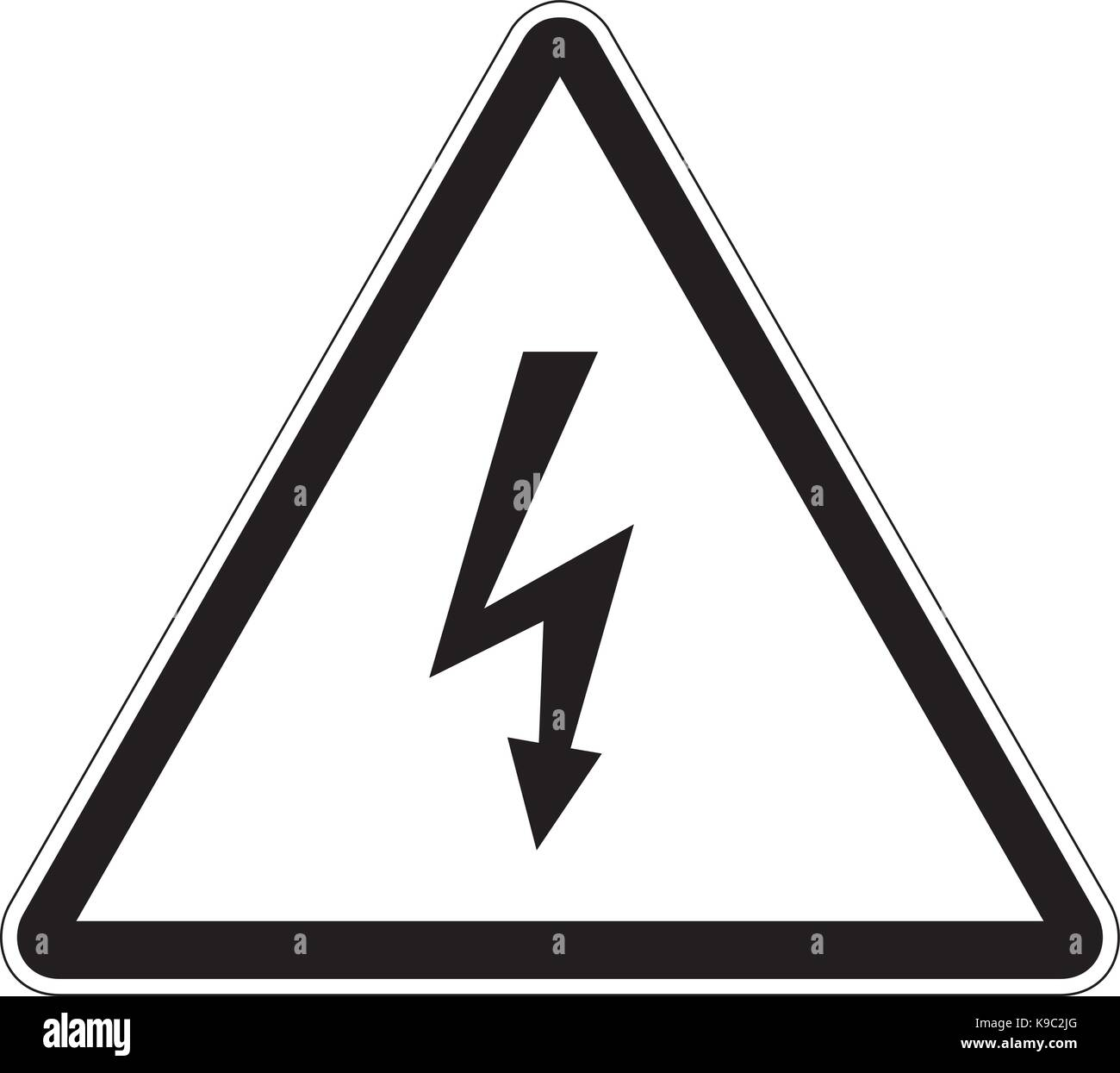 High voltage sign stock photos high voltage sign stock images alamy high voltage warning danger sign stock image buycottarizona Images
