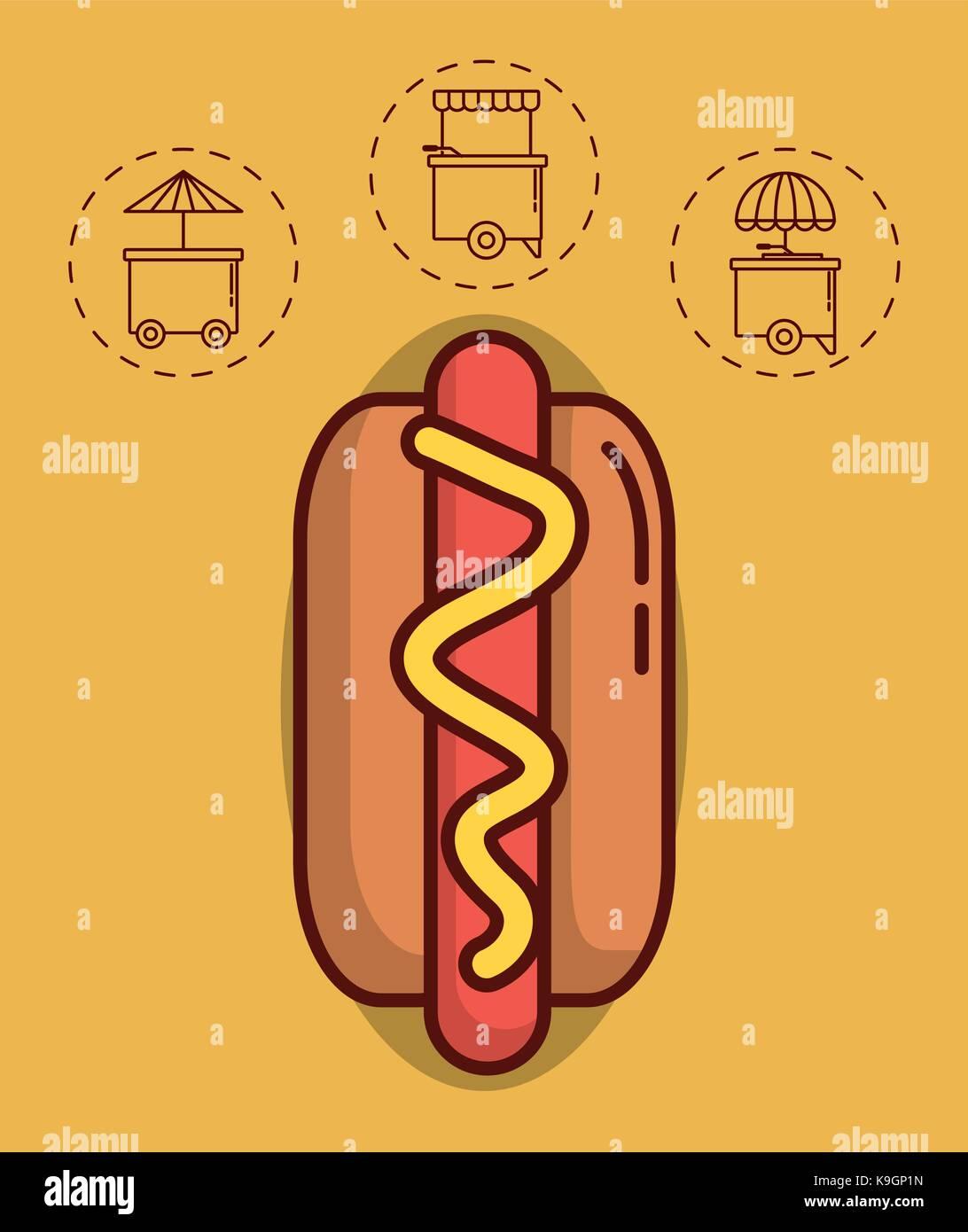 Hot Dog Van Stock Photos Amp Hot Dog Van Stock Images Alamy