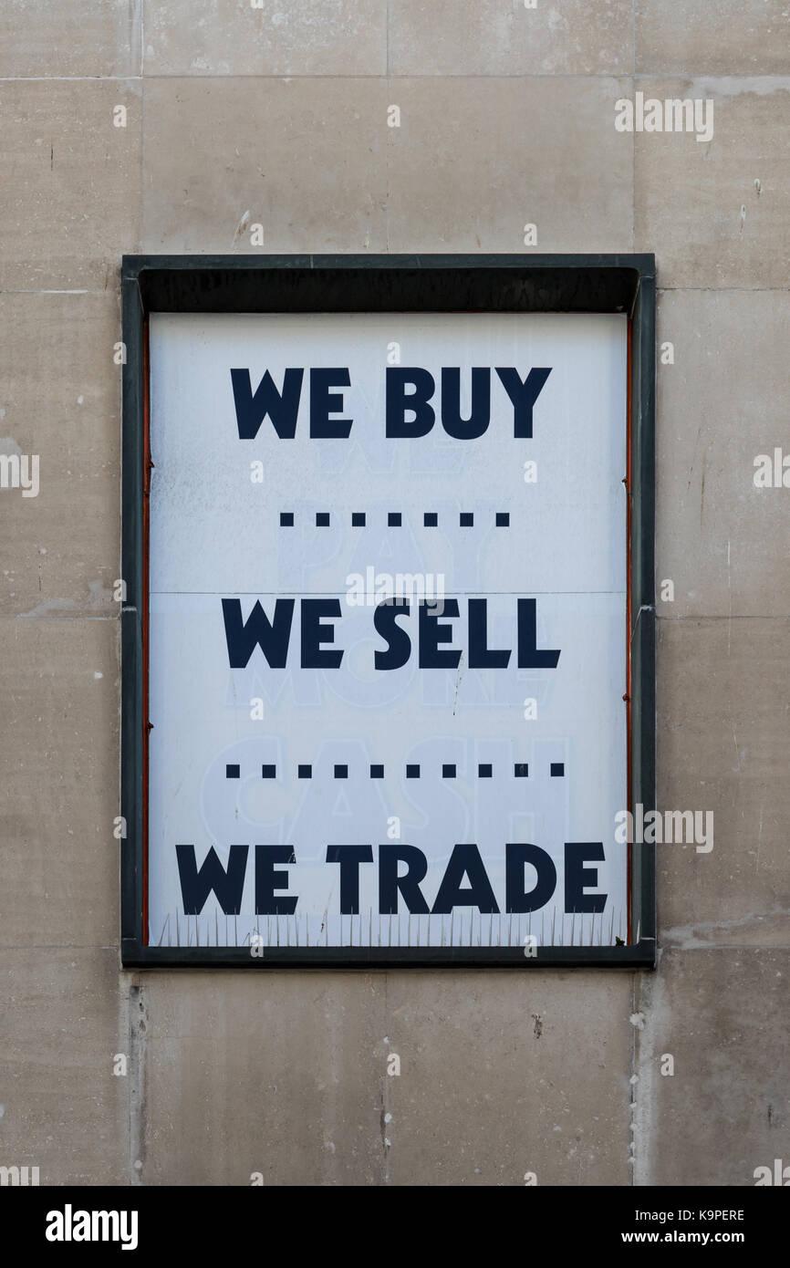 Trade Sign Stock Photos & Trade Sign Stock Images - Alamy