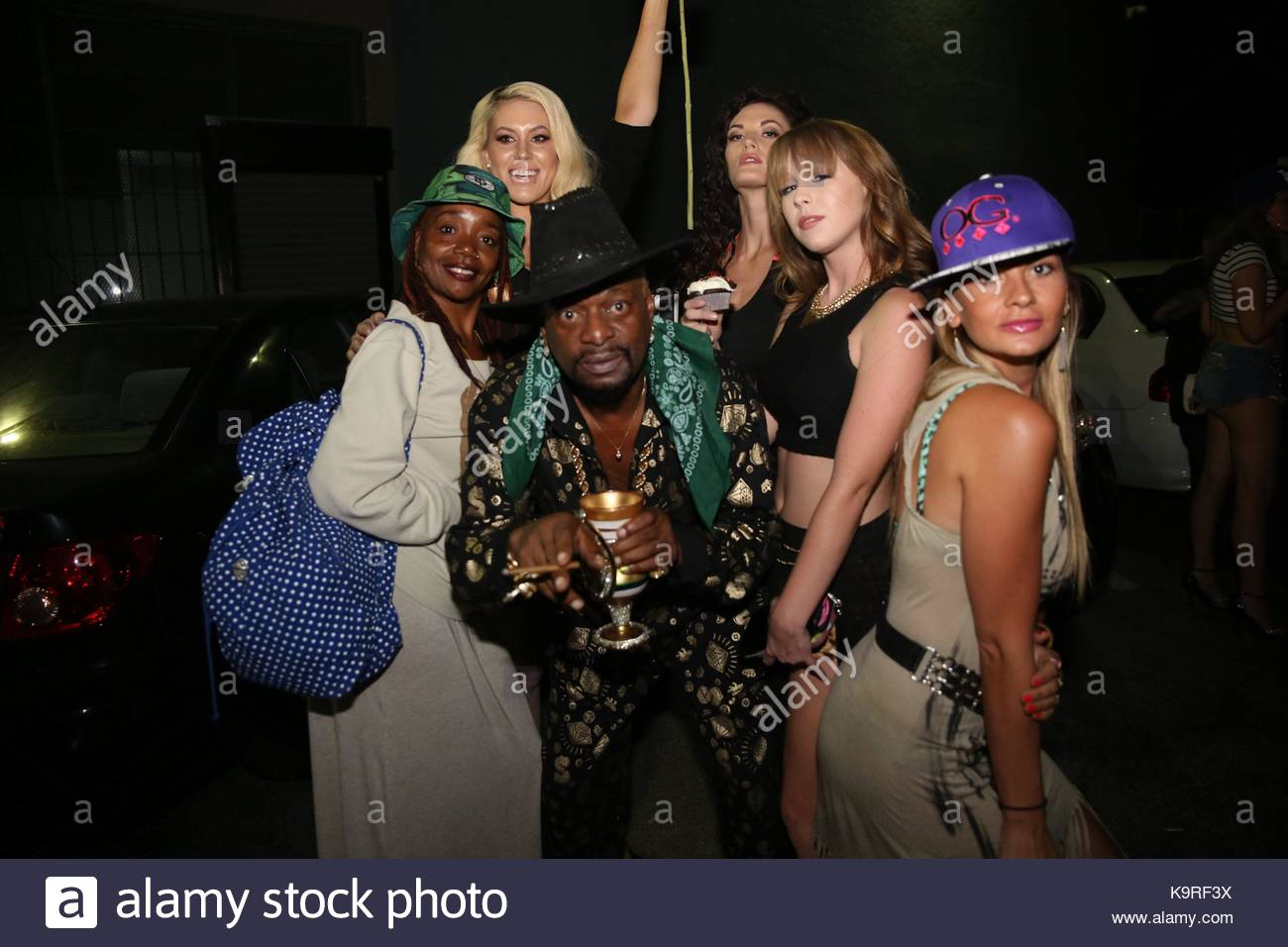 guests. bishop don magic juan brought playboy tv host andrea lowell