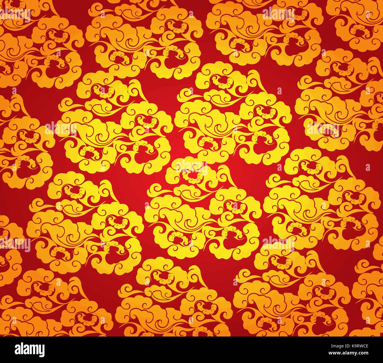 cloud abstract chinese new year background