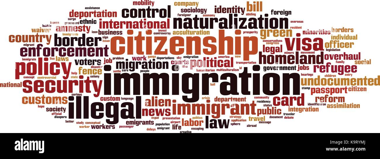 the legalization of the documents of illegal immigrants in the united states The us immigration and customs enforcement agency, known as ice, estimates at least 10 million people living in the united states are illegal immigrants if you are.