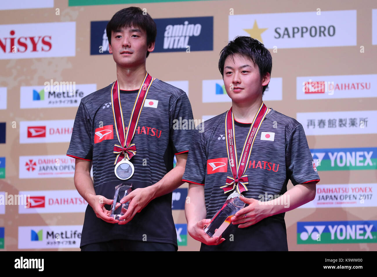 Tokyo Metropolitan Gymnasium Tokyo Japan 24th Sep 2017 Takuto