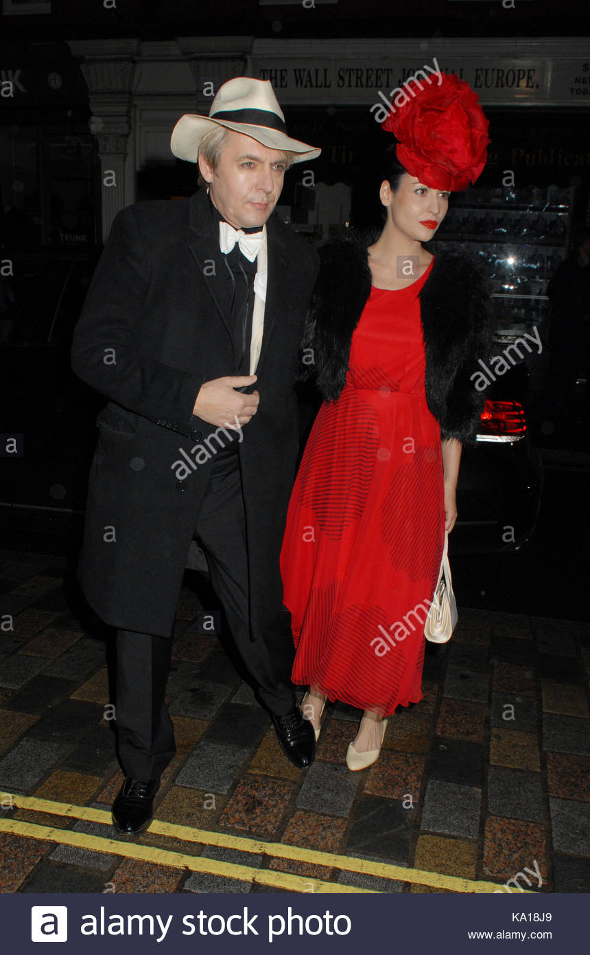 Nick Rhodes Mario Testinos 60th birthday party at the Chiltern