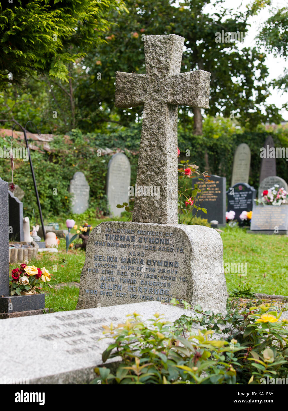 Memorial headstones stock photos memorial headstones stock gravestones at st marys church pilton barnstaple devon uk headstones buycottarizona