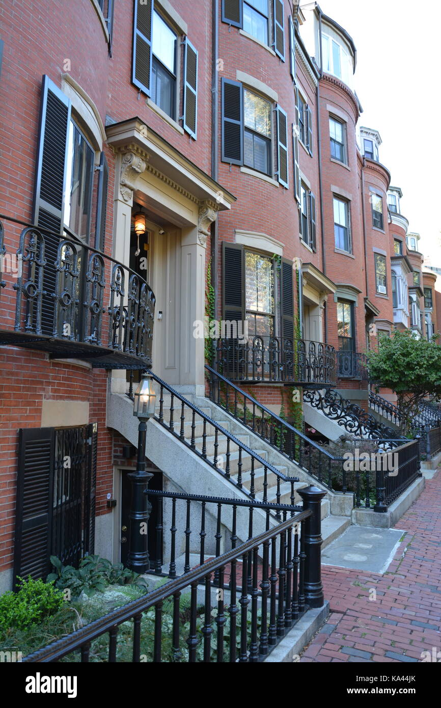 Victorian townhouse stock photos victorian townhouse for Historic hotels in boston