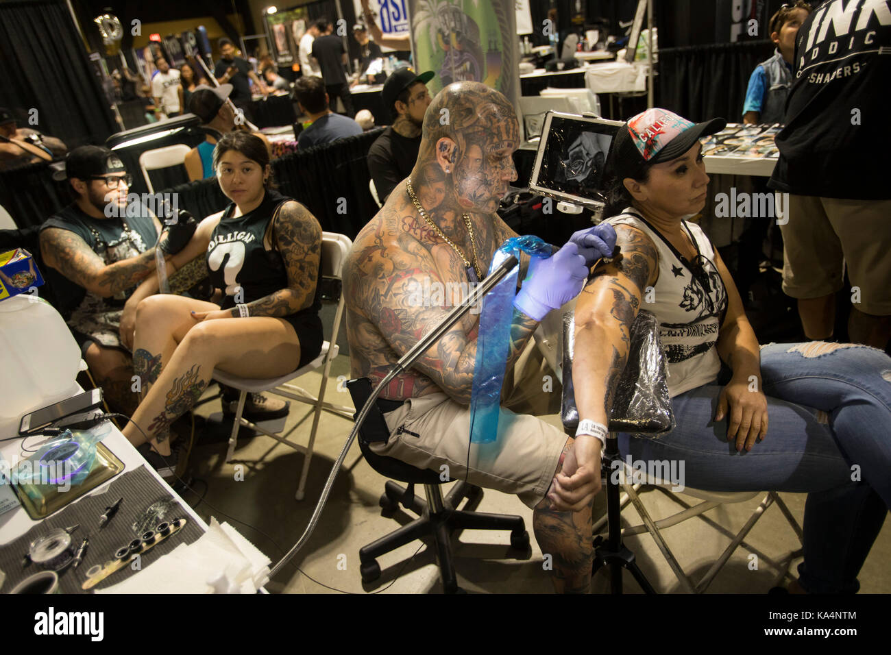 Long beach convention center long stock photos long for Tattoo convention los angeles