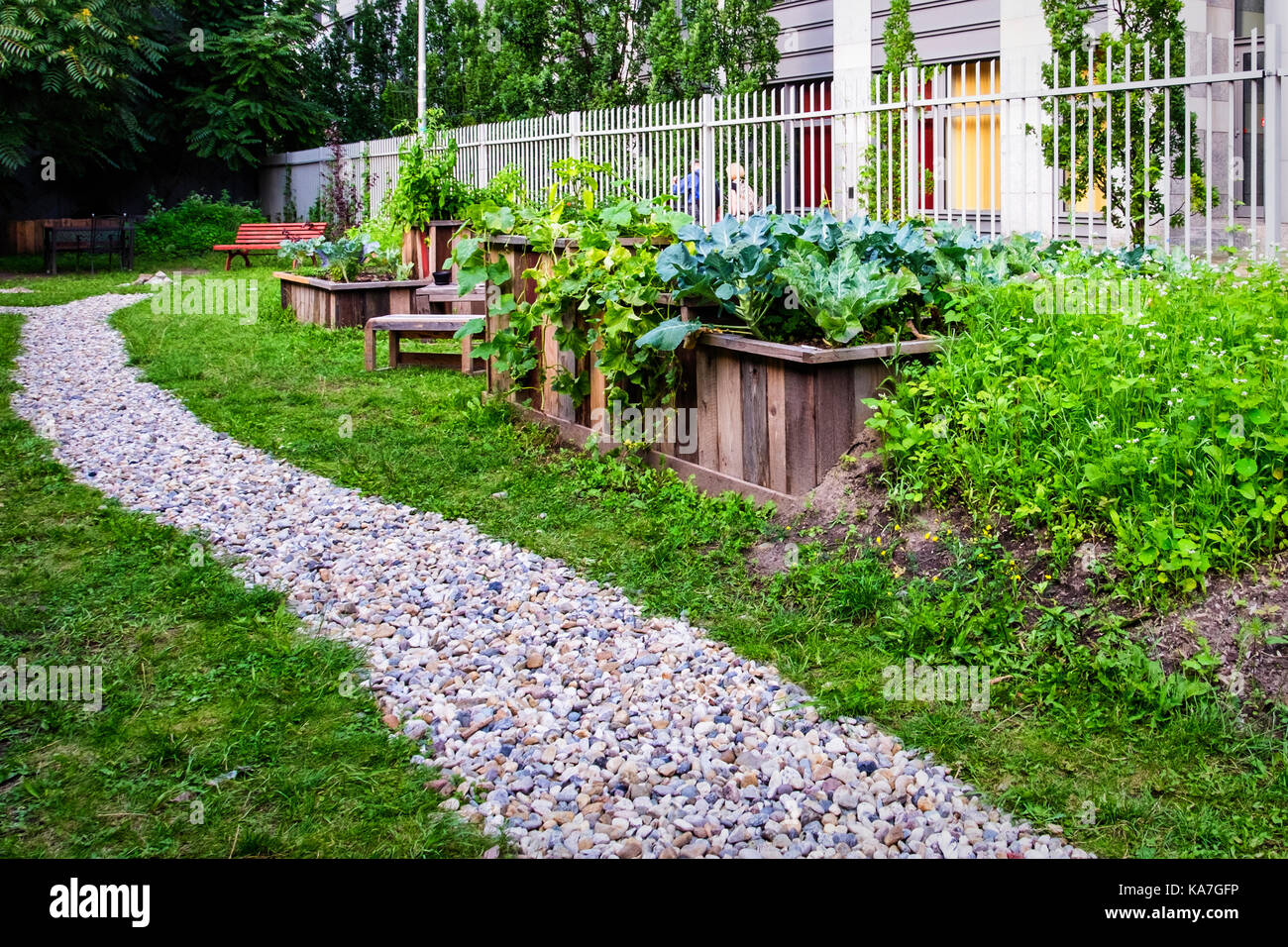 urban gardening in berlin germany stock photos urban gardening in berlin germany stock images. Black Bedroom Furniture Sets. Home Design Ideas