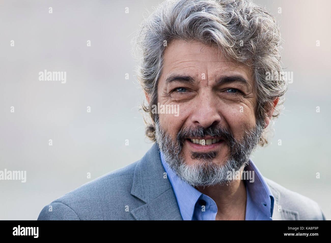 San Sebastian, Spain. 26th Sep, 2017. Actor Ricardo Darin ...