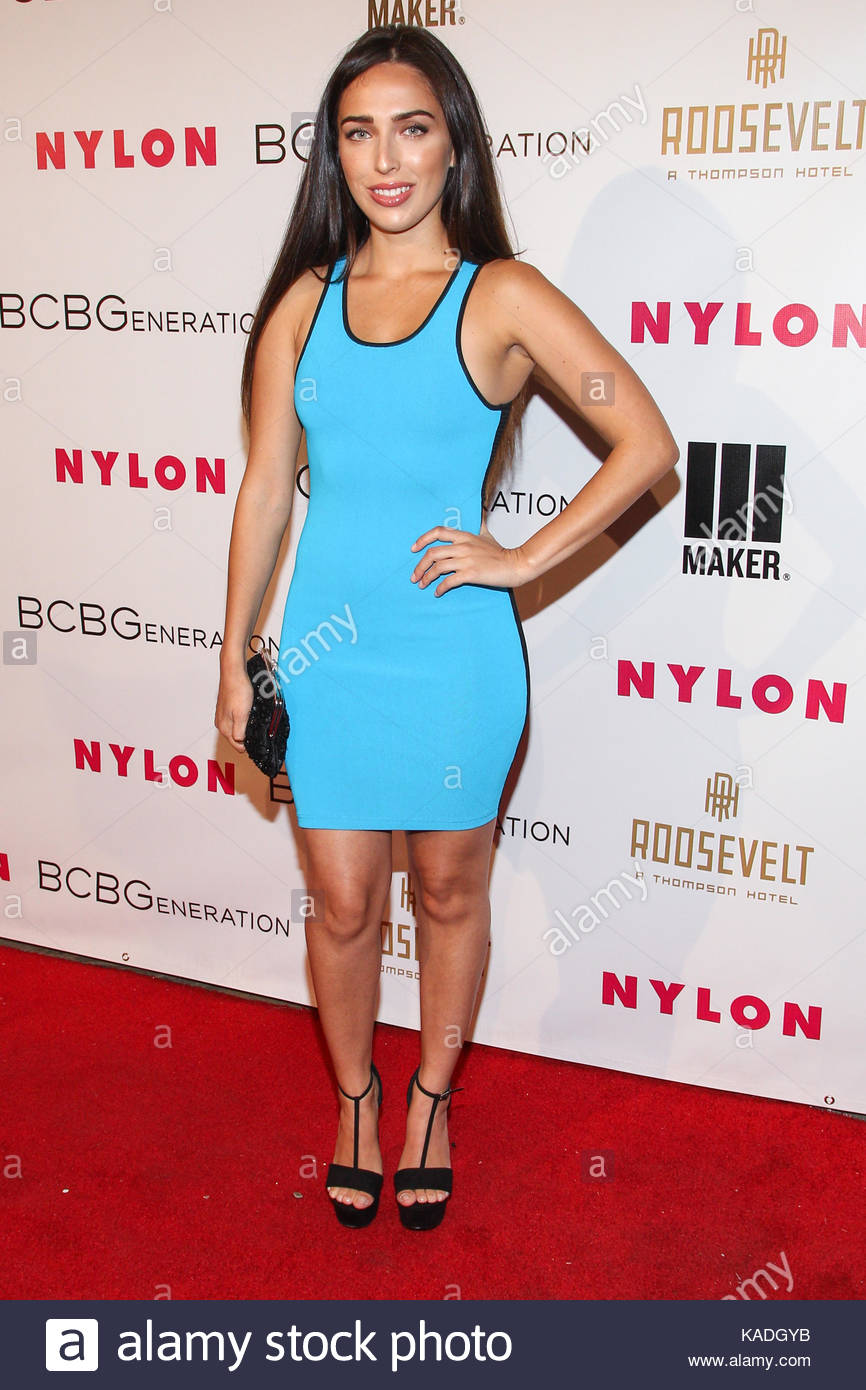 Chelsea Pereira. Celebrities attend the Nylon + BCBGeneration May ...