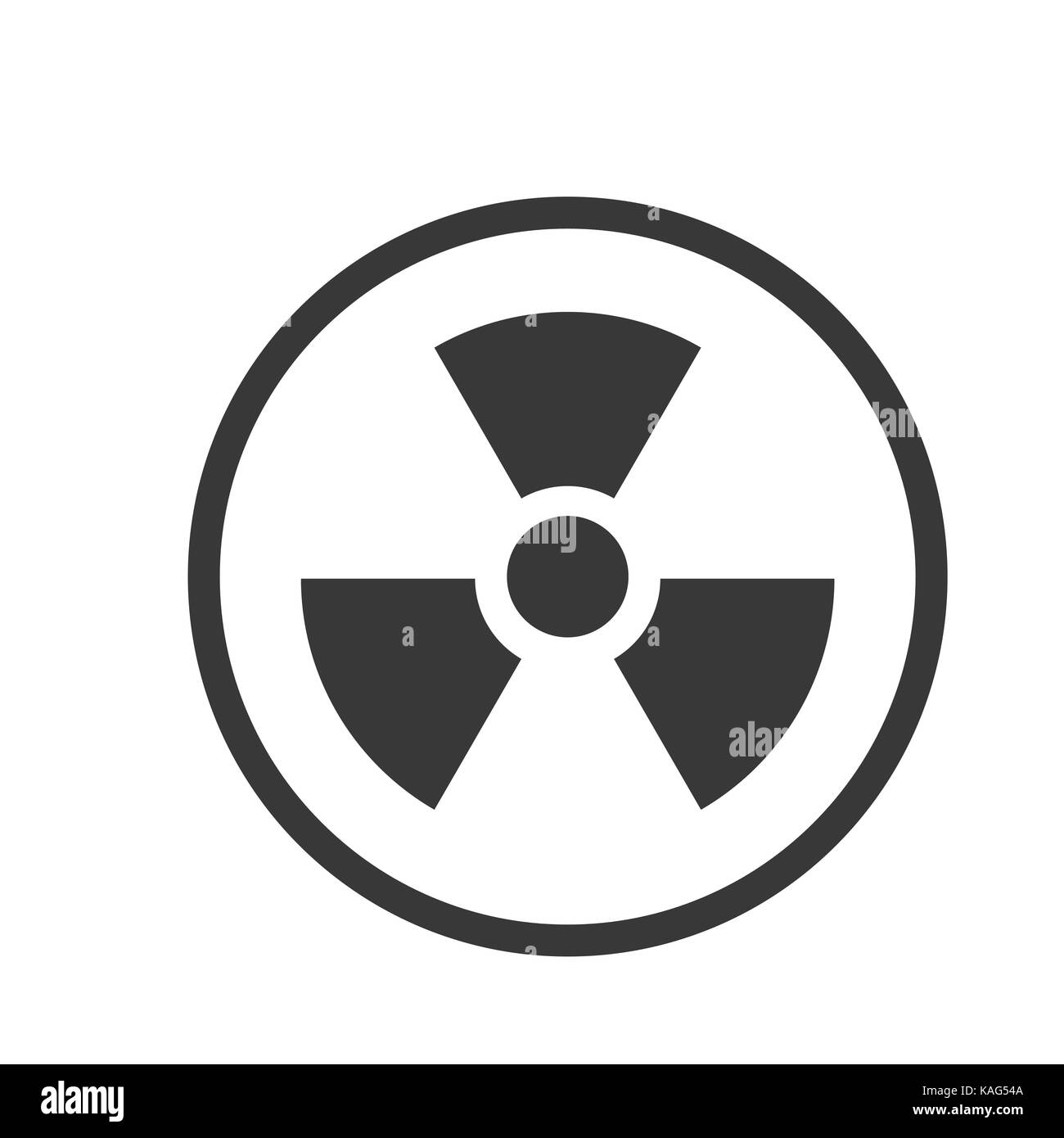 Nuclear radiation hazard symbol black and white stock photos nuclear icon iconic symbol inside a circle on white background vector iconic design biocorpaavc Gallery