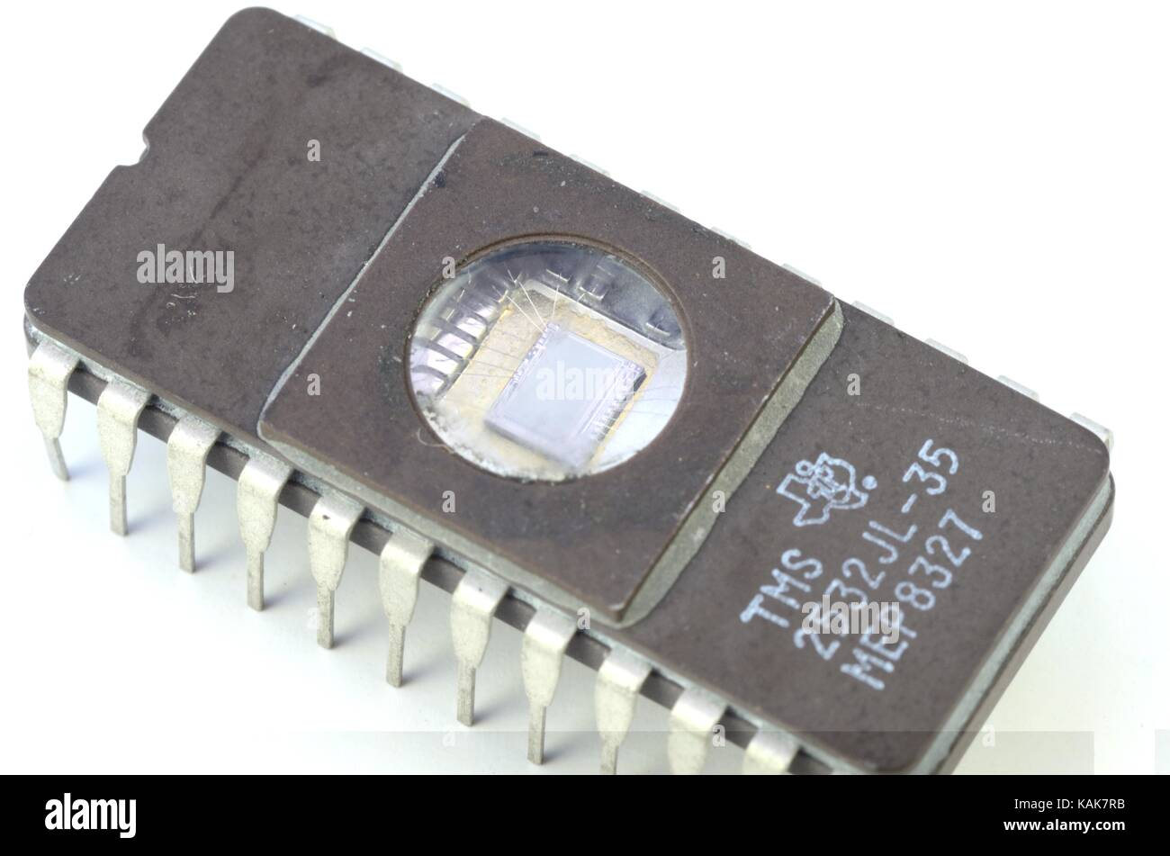 Dip Ic Dual Inline Package Integrated Circuit Stock Photo 222182353