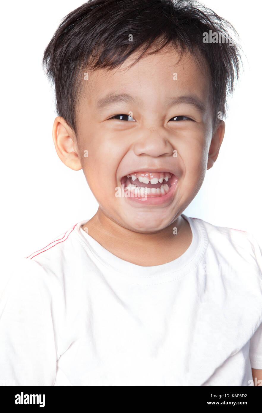 Asian happy face