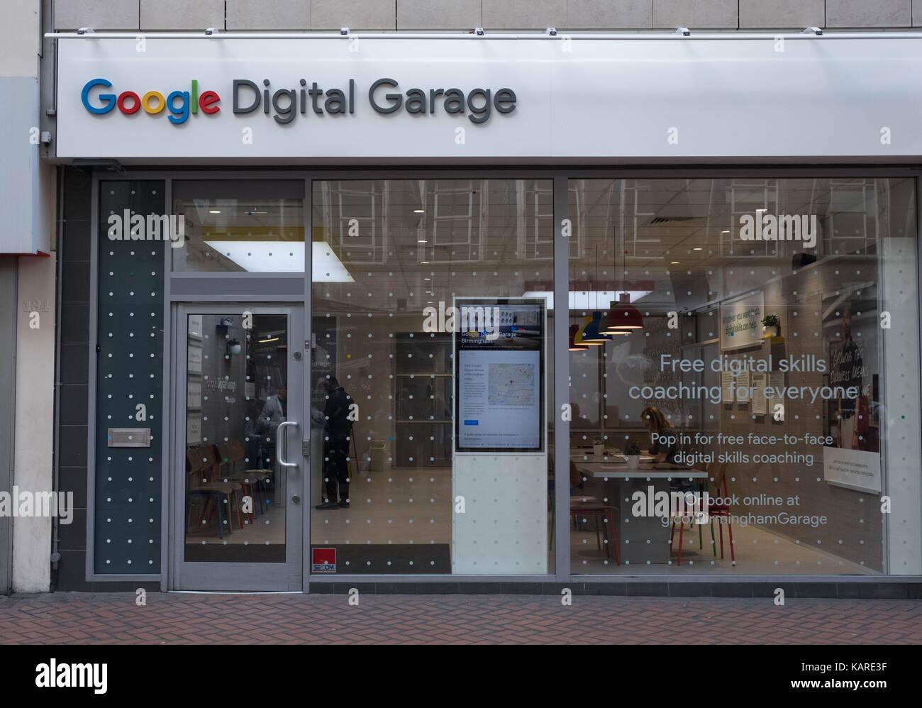 Google Digital Garage Newcastle