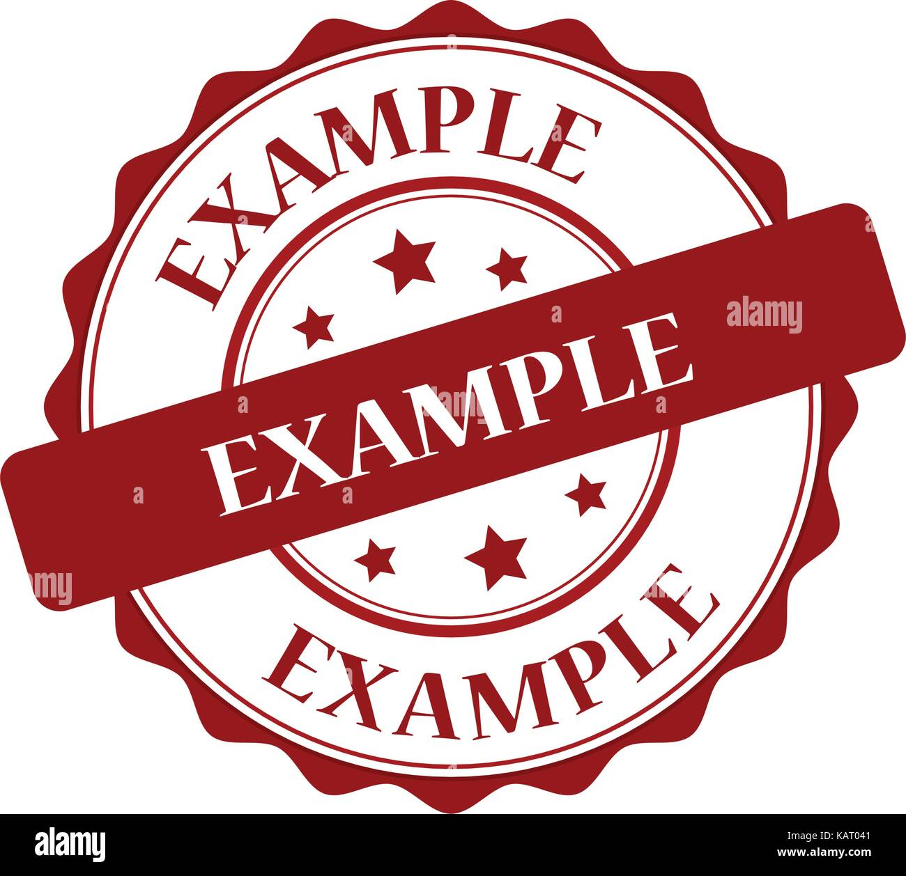 example red stamp illustration stock vector art illustration