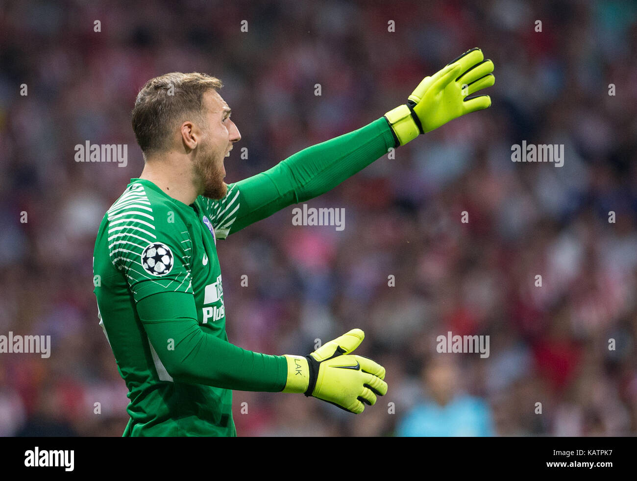 Footballer Jan Oblak Stock s & Footballer Jan Oblak Stock