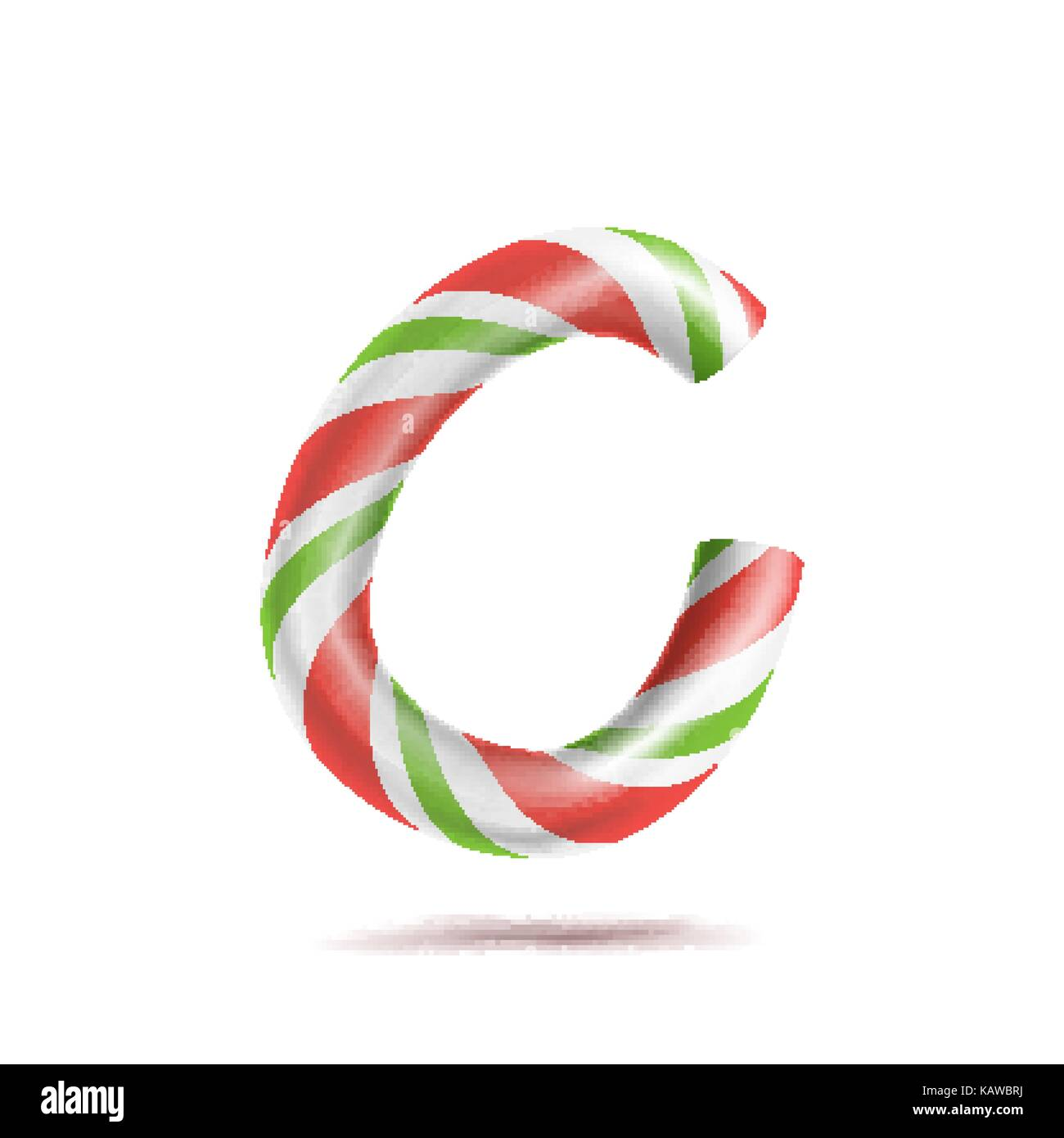 candy cane template