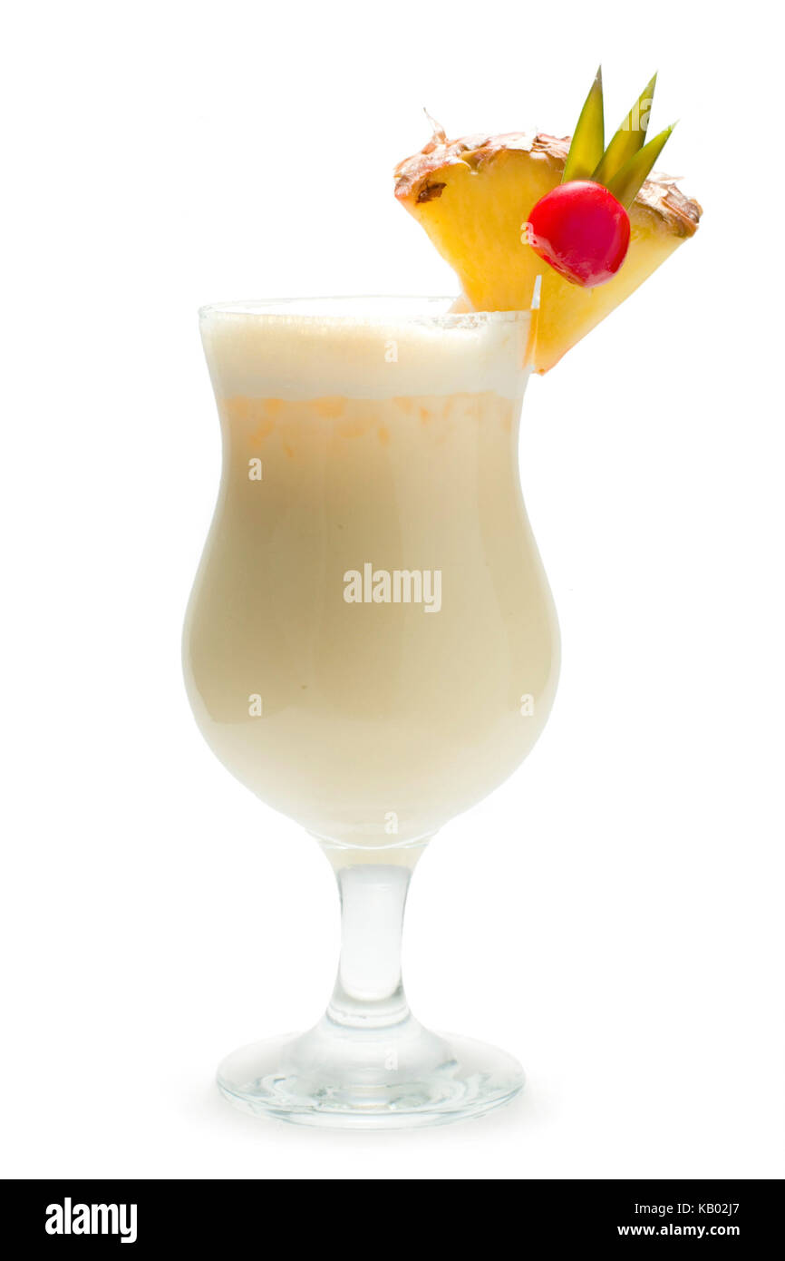 Pina colada stock photos pina colada stock images alamy for Mixed drinks with white rum