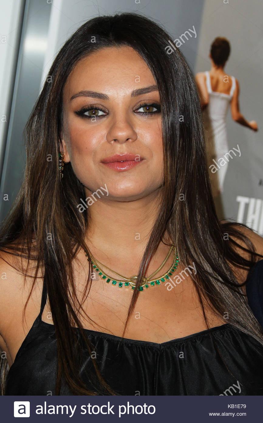 Mila Kunis Shoulder Length Hair