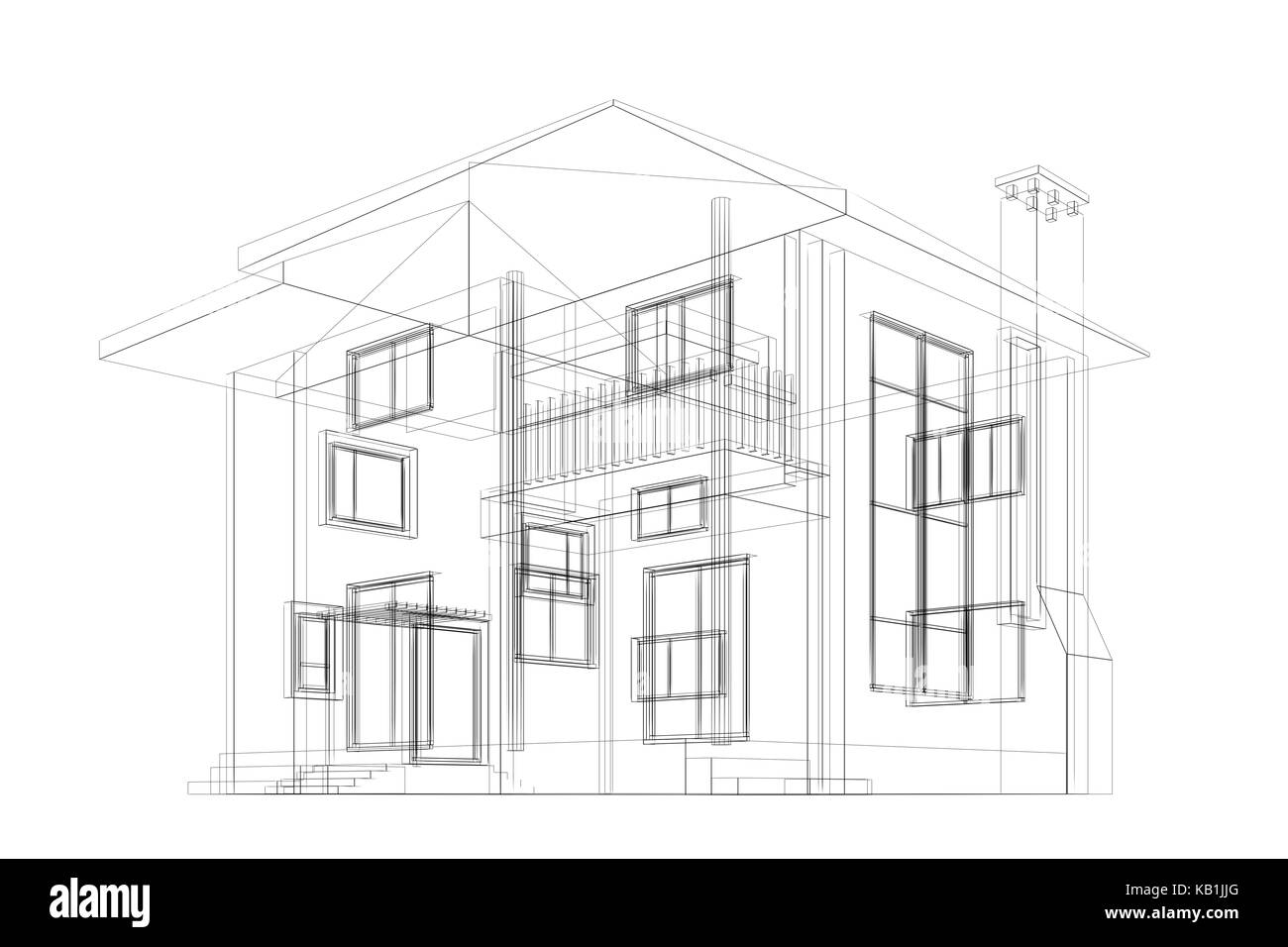 Blueprint building design and 3d rendering model my own stock photo blueprint building design and 3d rendering model my own malvernweather