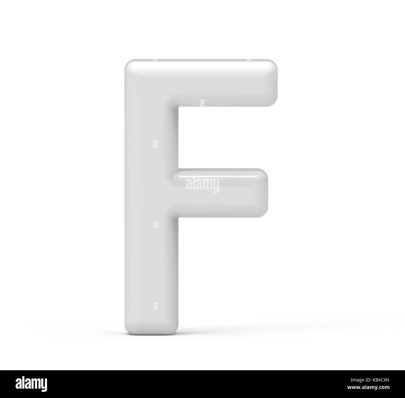 LettersMarket - 3D blue Letter F isolated on a white background ...