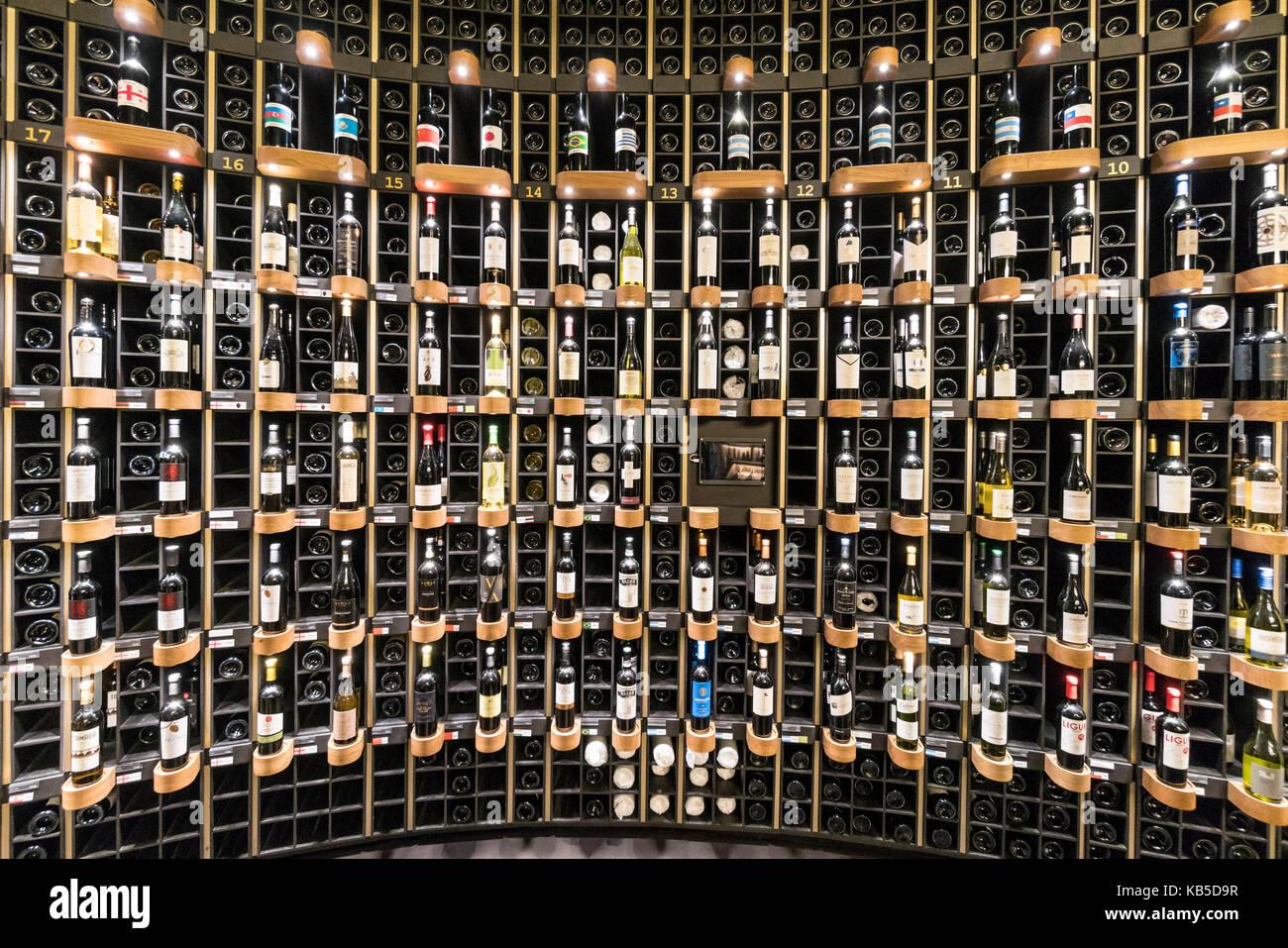 La Cite du Vin, The city of wine, wine cellar, show room, Bordeaux ...