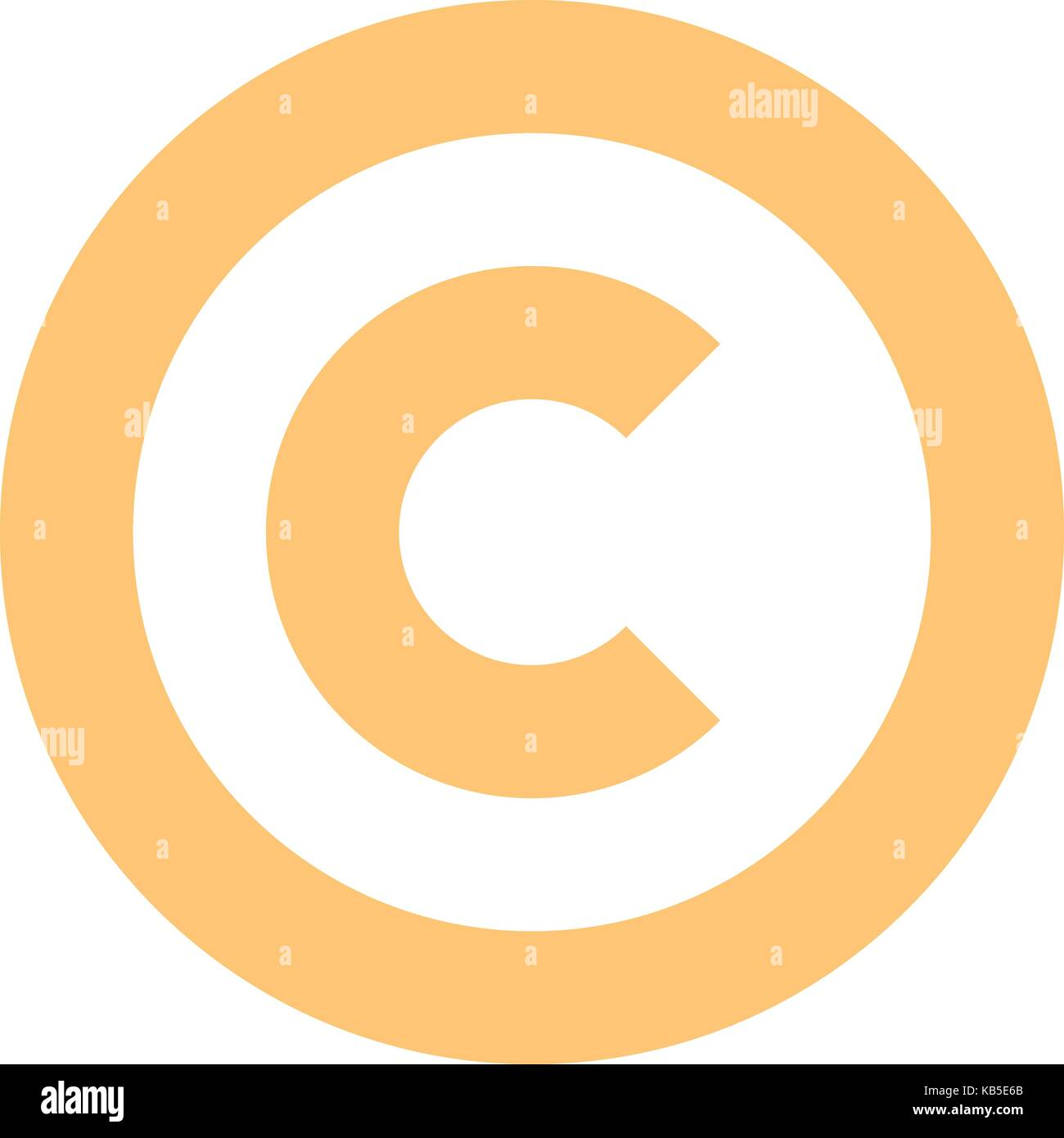The Copyright Symbol Or Copyright Sign A Circled Capital Letter C