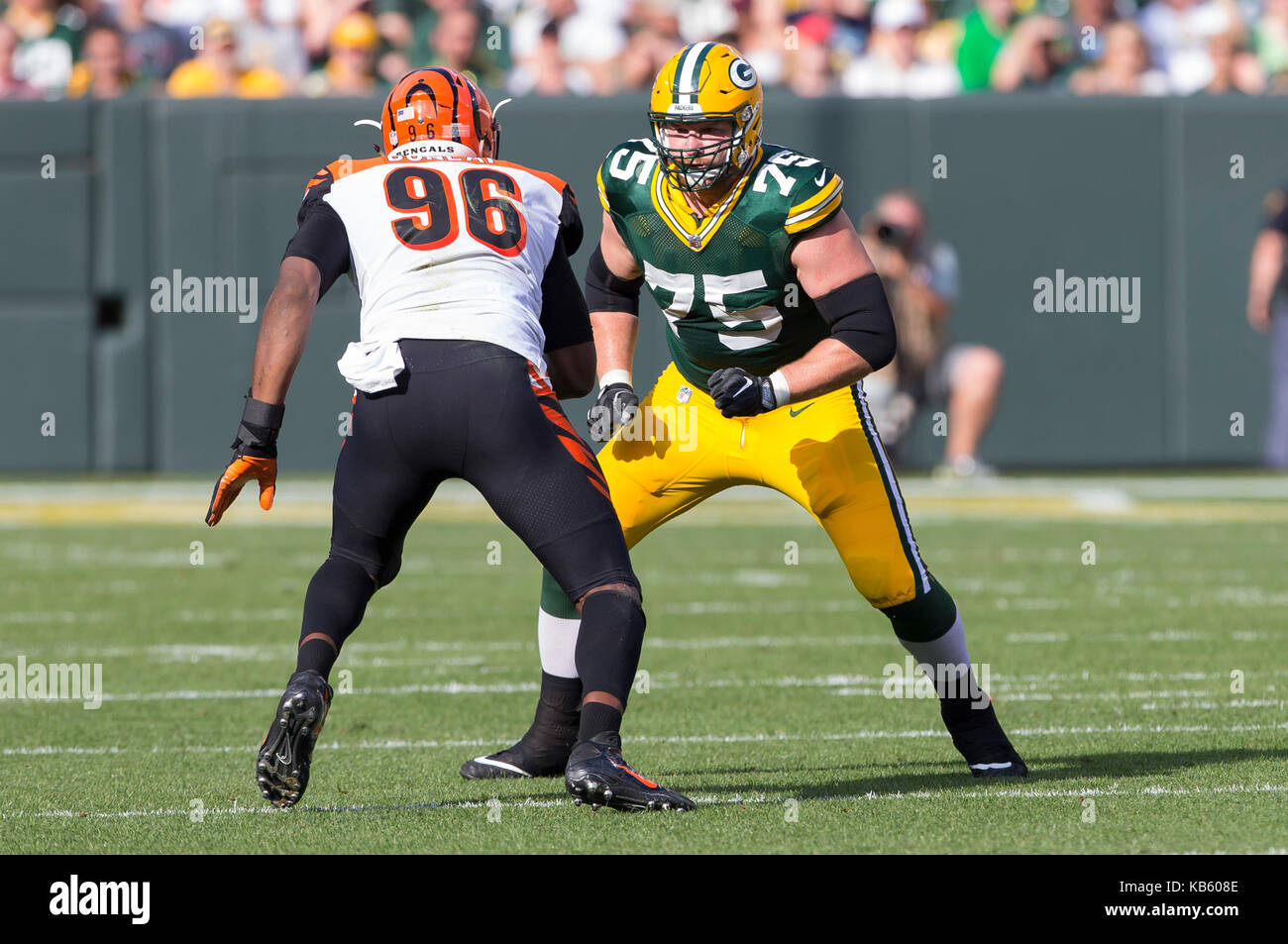 September 24 2017 Green Bay Packers offensive tackle Bryan