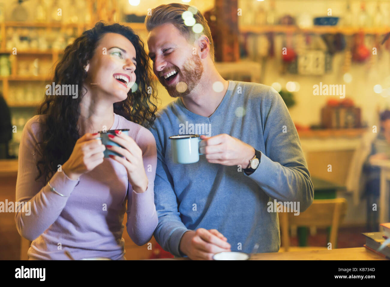 Coffee shop dating site