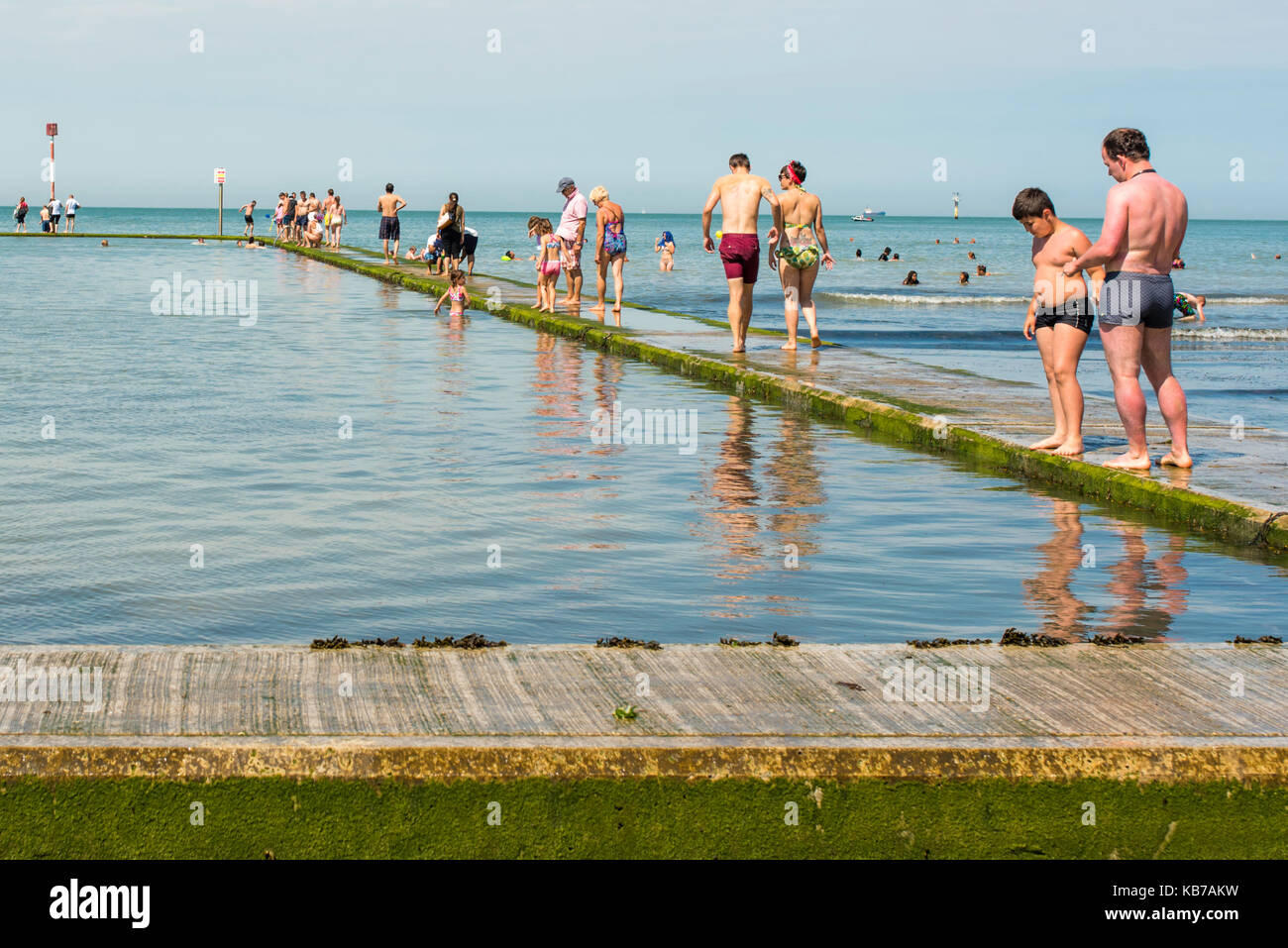 Boating Pool Sea Stock Photos Boating Pool Sea Stock Images Alamy