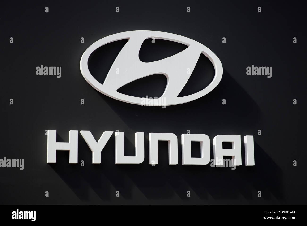hyundai car logo stock photos amp hyundai car logo stock