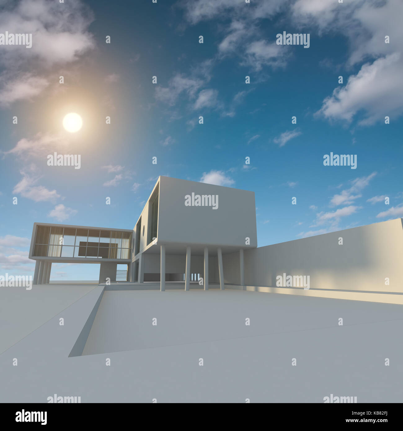 Building Design And 3d Rendering Model My Own