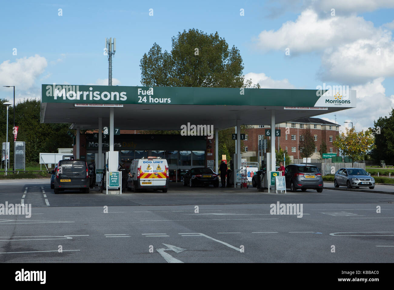 Morrisons Fuel Station Stock Photos & Morrisons Fuel Station Stock ...