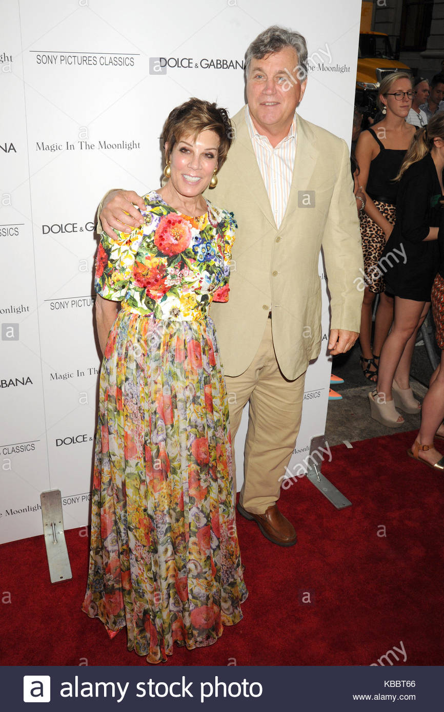 Peggy Siegal and Tom Bernard. Celebrities arrive on the red carpet ...