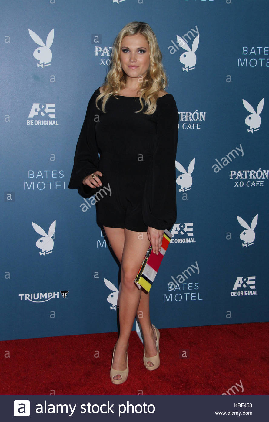 Eliza Taylor Playboy And A Amp E S Bates Motel Event During