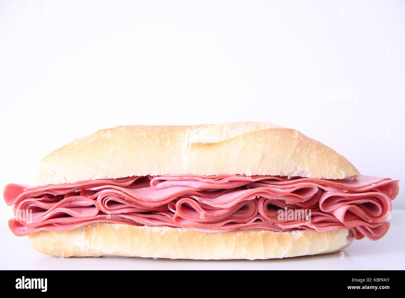 FKK - Brazil Sandwich, bologna, bread, São Paulo, Brazil