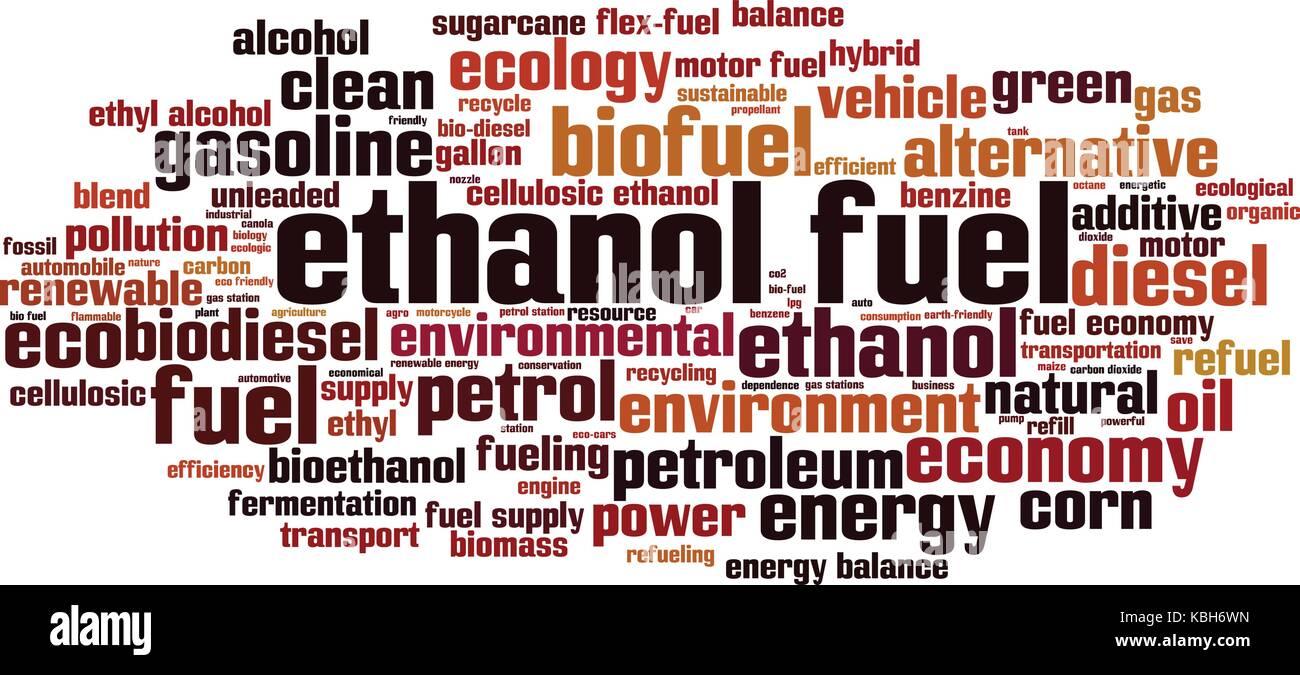 Bioethanol fuel stock photos bioethanol fuel stock images alamy ethanol fuel word cloud concept vector illustration stock image buycottarizona