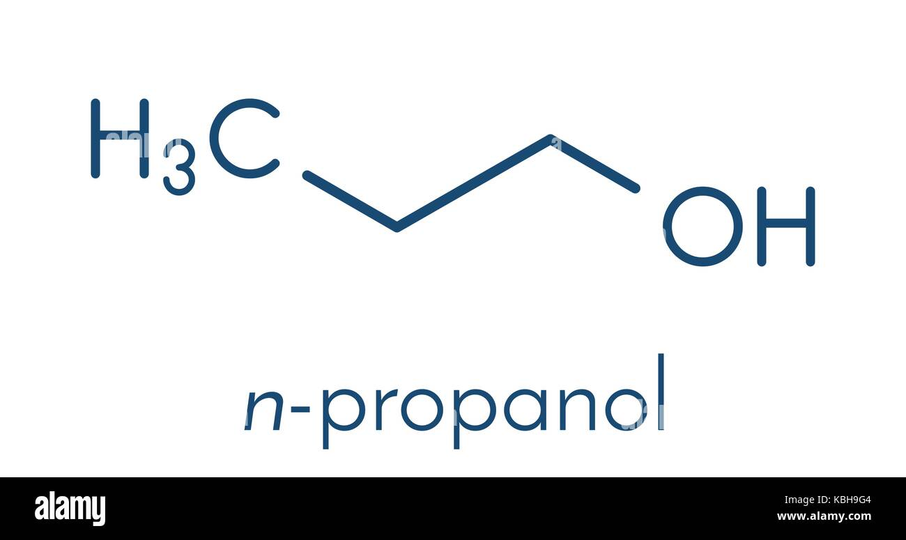 N Propanol 1 Propanol Stock Photo...