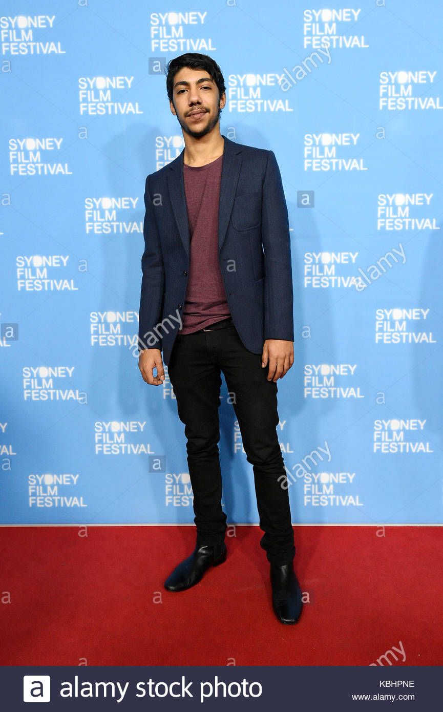 Hunter Page Lochard Local Cast And Celebrities Walk The Red Carpet At The Strangerland Premiere At The 2015 Sydney Film Festival At The State Theatre In