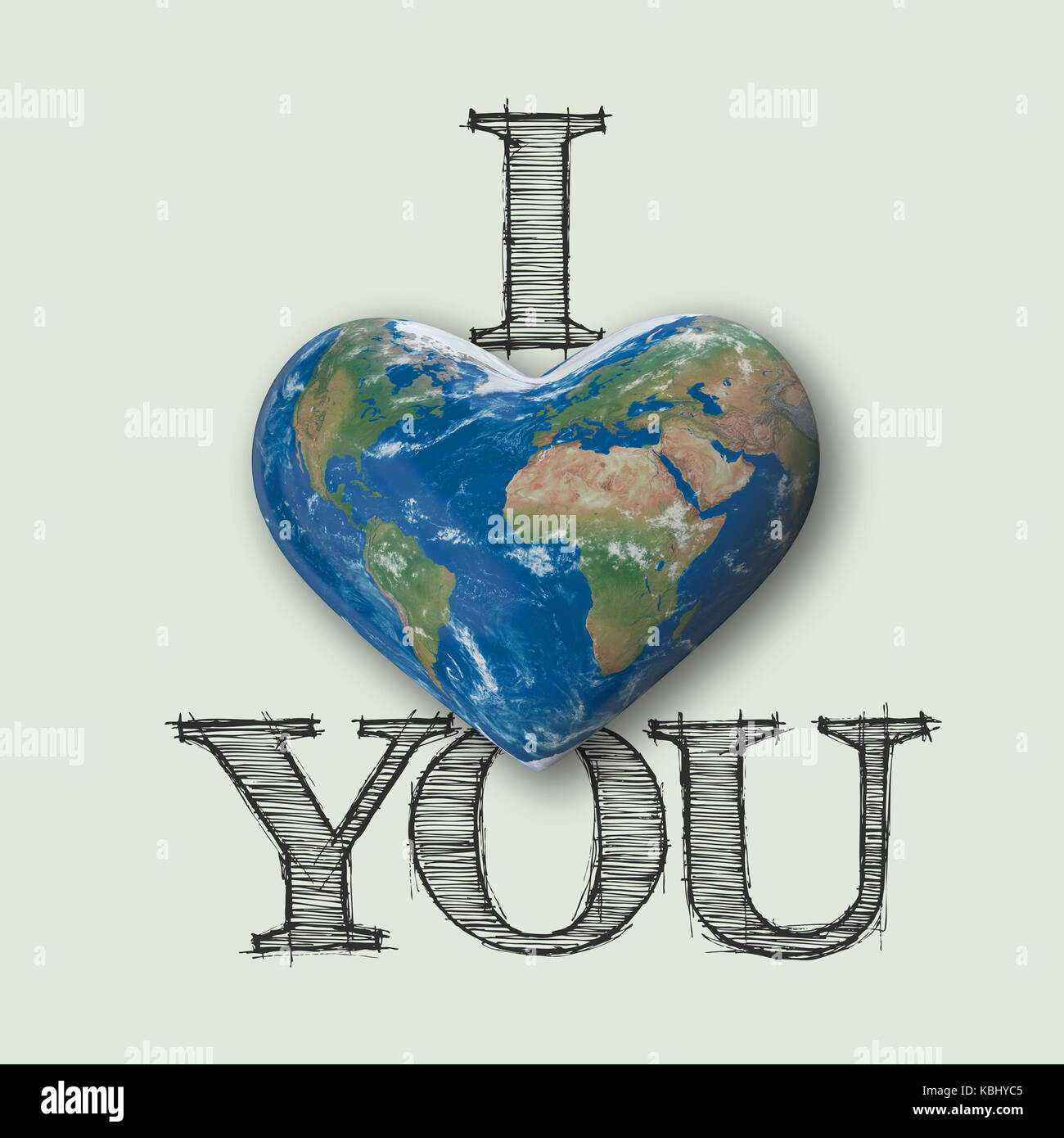 I love you world heart message 3d rendering stock photo royalty i love you world heart message 3d rendering biocorpaavc