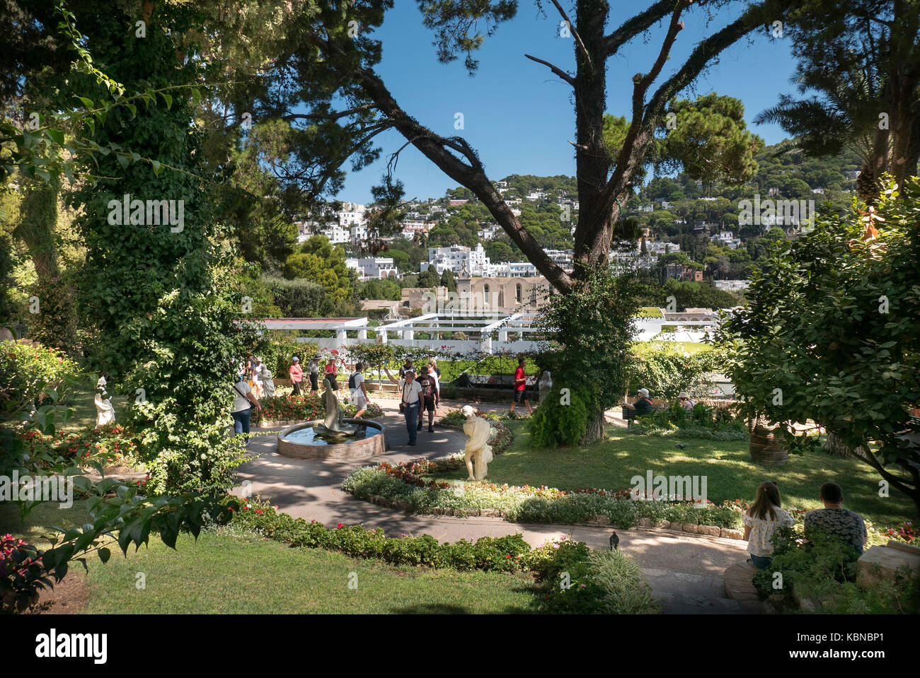 Perfect Neptune Gardens At Capri In Italy, From The Gardens Of Augustus One Can Get  A