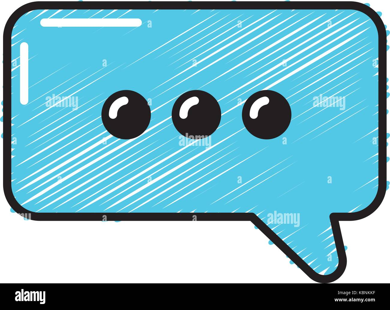 chat bubble text message icon stock vector art illustration