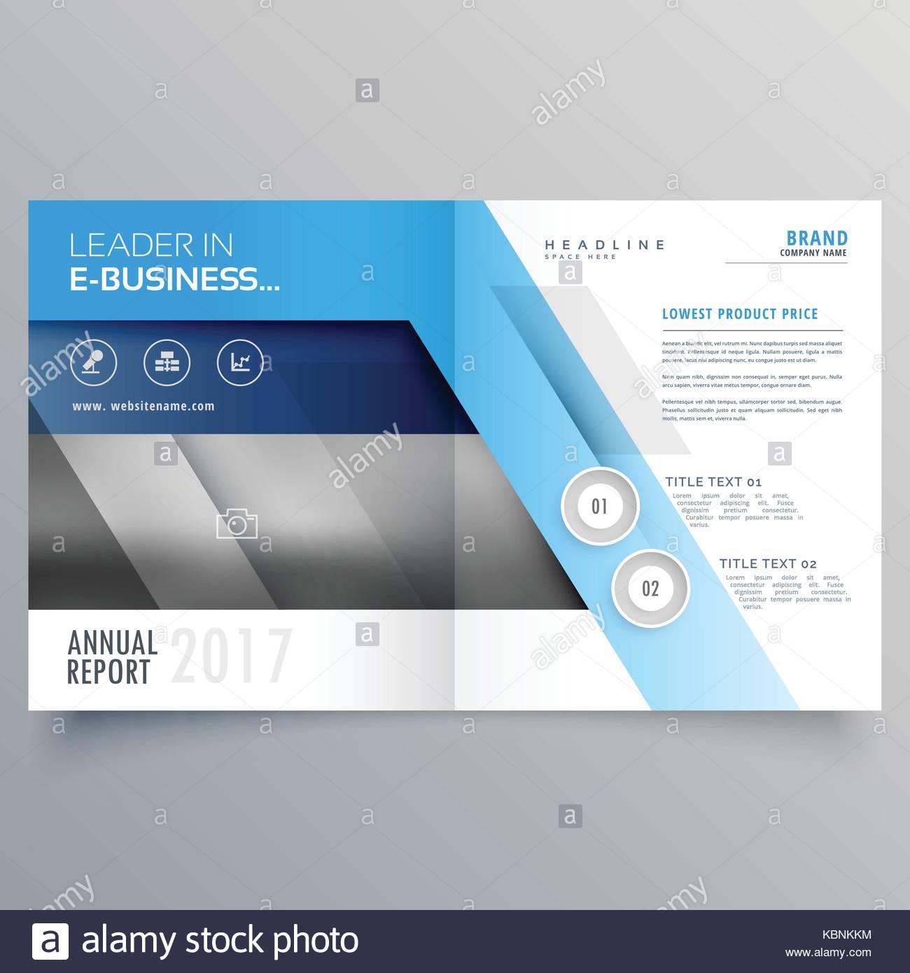 professional magazine cover page design or bi fold brochure template